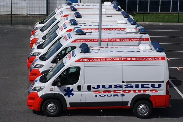 ambulance jussieu secours tours